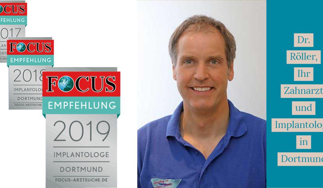 Empfehlung der Focus-Gesundheitsredaktion auch in 2019