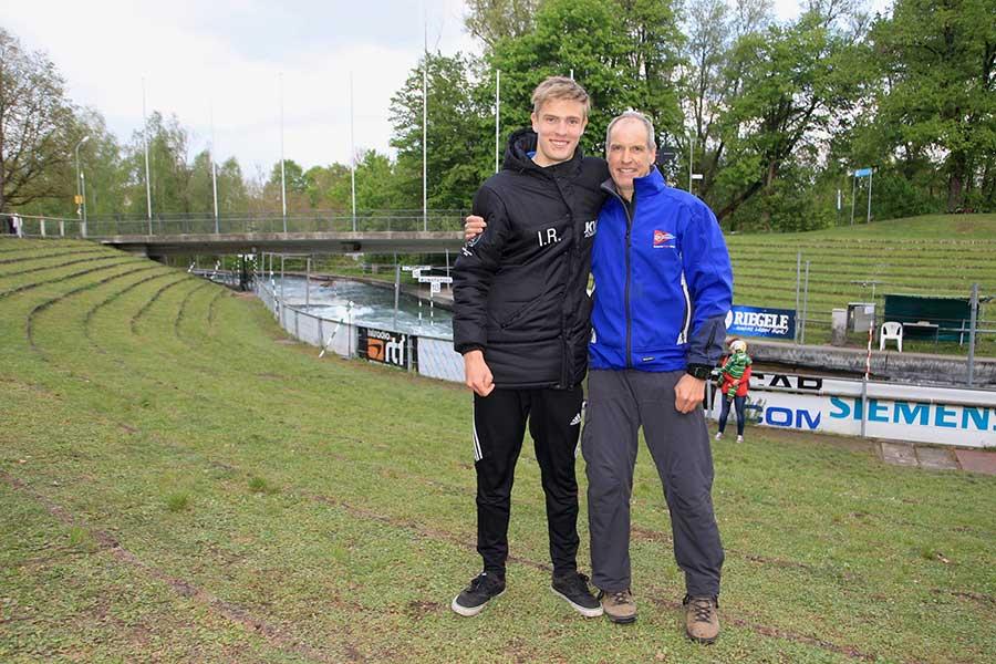Wie der Vater, so der Sohn – Tillmann Röller erfolgreich im Kanusport